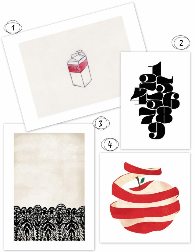 Going Graphic Kitchen Art | Kitchen Pots & Tabletops